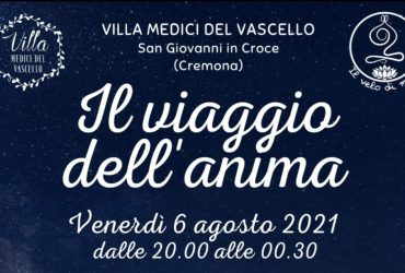 IL VIAGGIO DELL'ANIMA – 6 AGOSTO